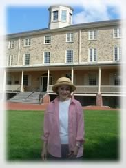 Marjorie G. Jones Researching Mary Vaux Walcott at Haverford College